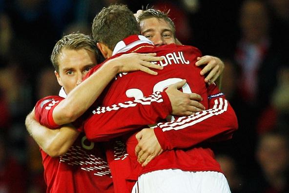 Dansk choksejr over Holland! Danmark, Holland, EM,