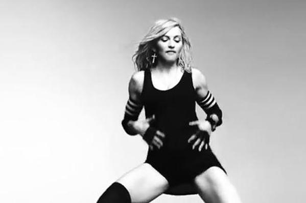 Madonna stripper på scenen! Madonna, Janet Jackson,
