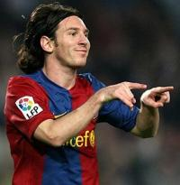 Barcelona Champions League mestre 2009 Barcelone, Messi, Champions League