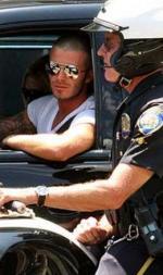 Beckham taget af politiet David Beckham