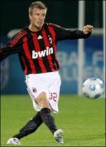 David Beckham bliver i Milan David beckham, milan,