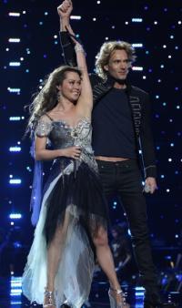 Dansk sang vandt Melodi Grand Prix ! Melodi grand prix,