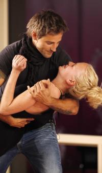 Dansk topmodel kysser med Oliver Bjerrehuus ! Oliver Bjerrehuus, top model,