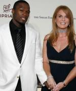 Fergie holder hånd med 50 Cent Sarah Ferguson, 50 Cent, velgørenhed