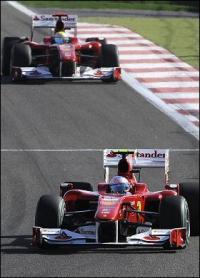 Ferrari triumf i Bahrain - Alonso vandt  Ferrari,