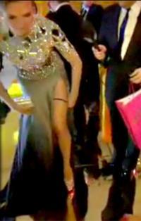 Heidi Klum smed trusserne Heidi Klum, Oscar, Undertøjsmodel