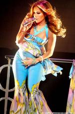 J.Lo med tvillinger Jennifer Lopez, tvillinger
