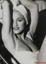 Madonna som nøgenmodel Madonna,