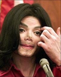 Michael Jacksons næse stjålet i nat ! michael jackson,