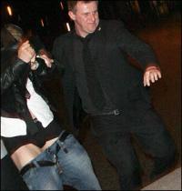 Nicklas Bendtner smidt ud af natklub  Nicklas Bendtner,Wayne Rooney,Cristiano Ronaldo