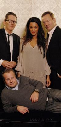 Saseline alene med 3 fyre i New York ! 4 stjerners middag, Thomas Bo Larsen, Dan Rachlin ,Uffe Holm, 4-Stjerners Rejse,Kanal 5,