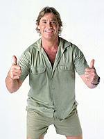 Se Irwins kamp mod døden Steve Irwin, krokodille