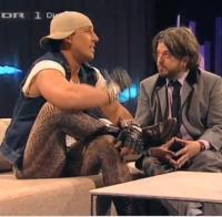 Sidney og Lars Løkke i Det nye talkshow ! Lars lykke, sidney lee,