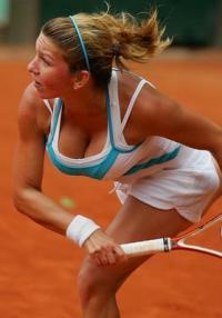 Simona Halep: 17 årig tennis princesse med kæmpe bryster Simona Halep, Tennis, Caroline Wosniacki
