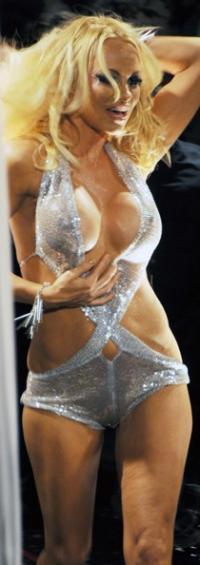 Pamela Anderson viste sine nye bryster frem ! Pamela Anderson,Richie Rich