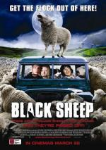 Pas på dræber-får black sheep, new zealand, film