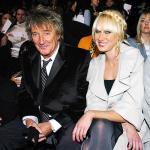 Rod Stewarts datter smider tøjet Rod Stewart, Bob Geldof, Ronnies wood, Kimberly Stewart, Peaches geldof, Leah wood, brian adams,