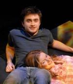 Radcliffe sammen med kollega Daniel Radcliffe, Harry Potter, Equus