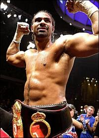 The Beast from East fik tæv ! boksning, david haye,