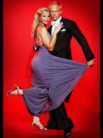 Tina Lund vild med en af danse herrerne ! Vild med dans, tina lund, Tobias Grahn, M,