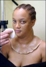 Tyra Banks tog 160 kilo på! Tyra Banks
