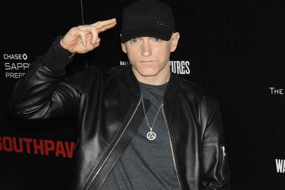 Eminem i vildt angreb på Trump! Eminem, vildt, angreb, Donald Trump
