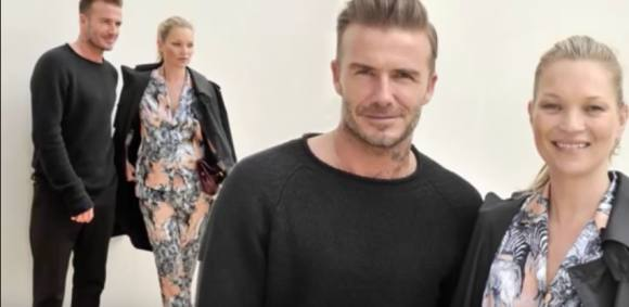 David Beckham & Kate Moss sammen i Paris David Beckham, Kate Moss, Paris, Modeuge