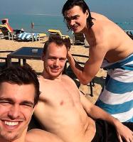 Se foto: VM-herrerne som strandl�ver! h�ndboldherrer, h�ndbold, vm, rasmus lauge