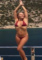 Caroline viser sig frem i bikini! Caroline Fleming, bikini, ferie, Josephine Skriver