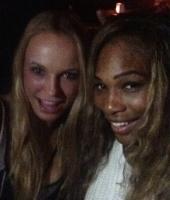 Caroline Wozniacki fejrede nederlag! caroline wozniacki, serena williams, us open