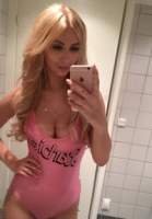 Nikita Klæstrups Barbie-forvandling! Nikita klæstrup, paradise hotel, oliver bjerrehuus, blondine