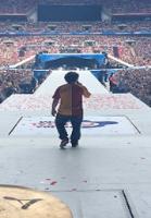 Lukas Graham optrådte foran 80.000! Lukas Graham, Wembley.