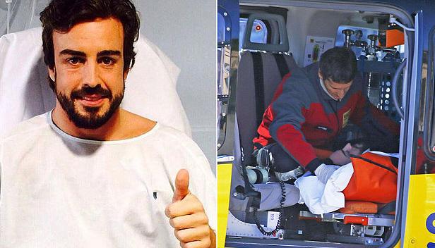 Alonso fortsat indlagt, husker intet ! kevin magnussen, fernando alonso, mclaren