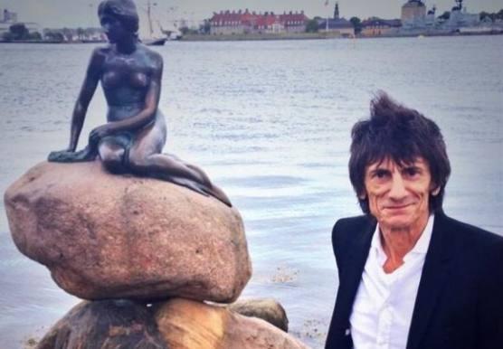 Rolling Stones klar til Roskilde i aften ! Rolling stones, mick jagger, roskilde,