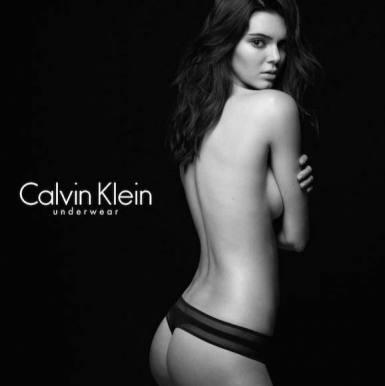 Kendall Jenner smider tøjet i reklame! kendall jenner, kim kardashian