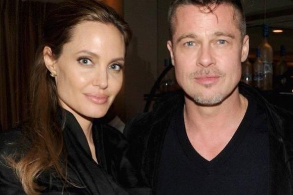 Brad og Angelina var allerede gift! angelina jolie, brad pitt