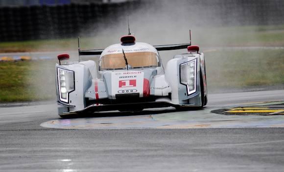 Le Mans: Tom Kristensen starter i bilen! Tom Kristensen, Audi, Le Mans, TV2