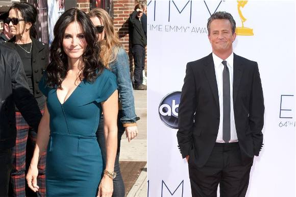 Har 'Monica' og 'Chandler' fundet sammen? friends, matthew perry, courteney cox