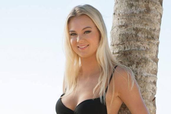Caroline tjekker ind på Paradise igen! Caroline, Paradise Hotel, paradiso