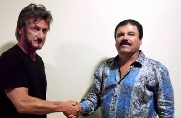 Hollywood-stjerne mødte narko-baron! sean penn, narko