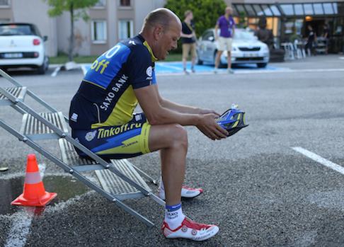 Bjarne Riis græder for åben skærm! Bjarne Riis, Tyler Hamilton, Alberto Contador, cykling, doping