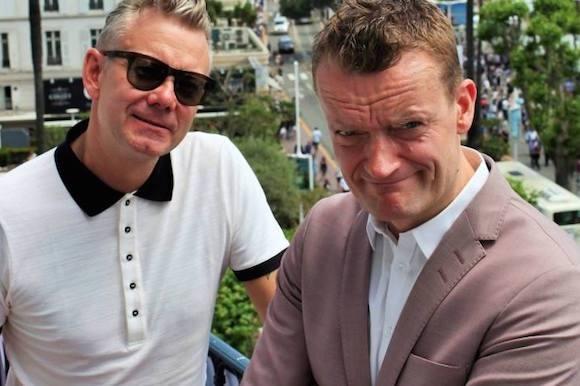 Se klippet: Frank og Casper truet i LA! klovn, casper christensen, frank hvam