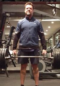 Russell Crowes vilde vægttab! Russell Crowe, vægttab, Ryan Gosling