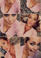 Amalie viser sine svulmende bryster! Amanda Szigethy, amalies verden, bryster, gravid