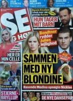 Bendtner afviser rygter om blondine! bendtner, zangenberg, se og hør