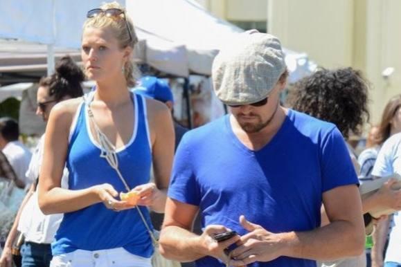 DiCaprio dropper sin modelkæreste! leonardo dicaprio, toni garrn