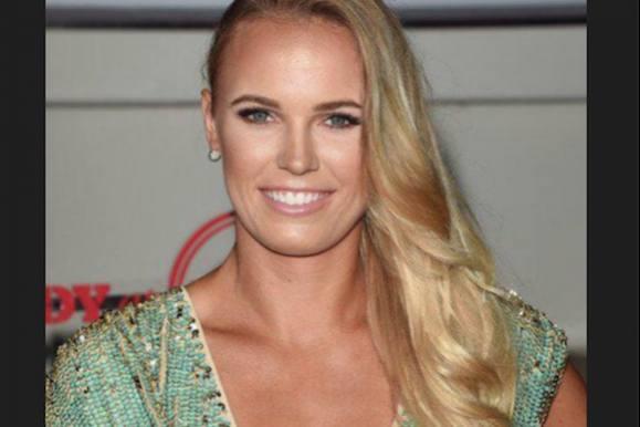 Se Caroline photobombe Beckham! caroline wozniacki, david beckham