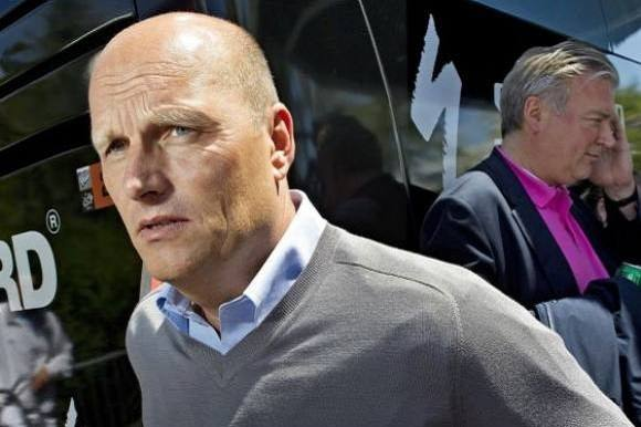 Bjarne Riis overtager dansk cykelhold! Bjarne Riis, Lars Seir Christensen, Team Virtue Pro-Veloconcept
