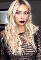 Kim Kardashian bliver blondine! Kim Kardashian, blondine