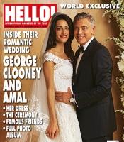 Se billedet af Clooneys smukke brud! george clooney, hollywood